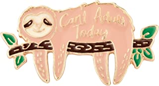 Avamie Can't Adult Today Chill Sloth Enamel Lapel Pin