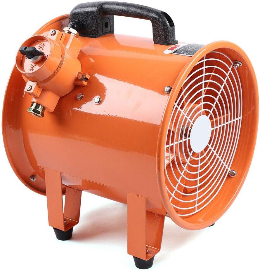 Ventilador industrial de 12 pulgadas con extractor de aire, ventilador de cilindro, diámetro 300 mm del ventilador de extractor de taller 370 W