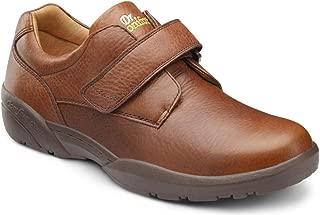 Men's William Black Diabetic Casual Shoes
