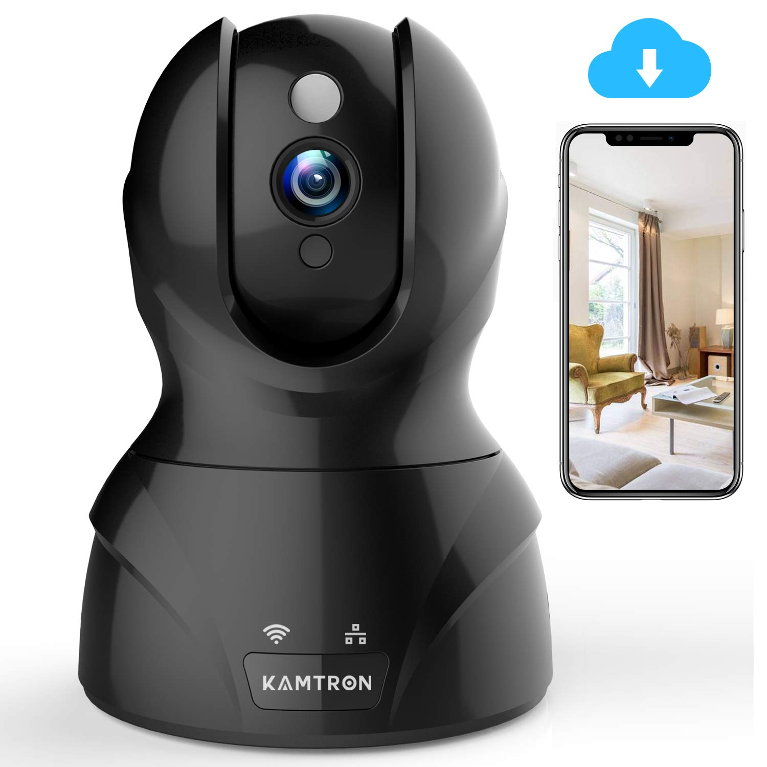 Wireless Security Camera Two way Audio