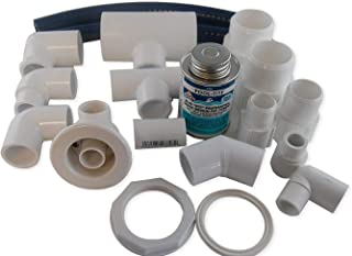 Jacuzzi BMH repair kit with flex glue white HC31940 with dvd tutorial