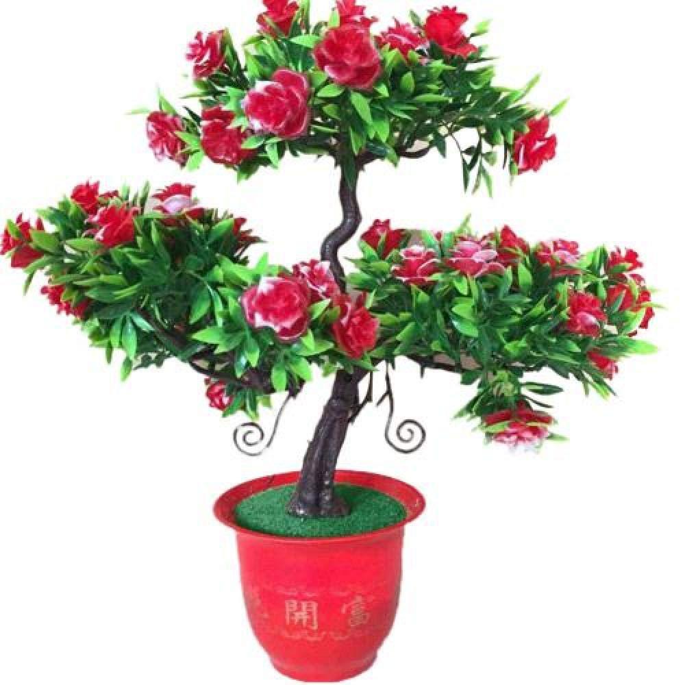 6/' nouvelle réaliste Soie Artificielle Bougainvillea Arbre avec vigne Trunk /& fleurs