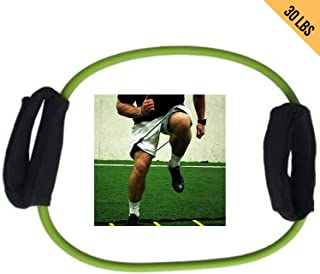 HCE Lateral Tube Resistance Band - 30 Lbs Arms, Thigh, Ankle, Leg Tube Strap Latex Cuffs Fitness Workout | Physical Therap...