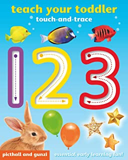Teach Your Toddler Touch-and-Trace: 123
