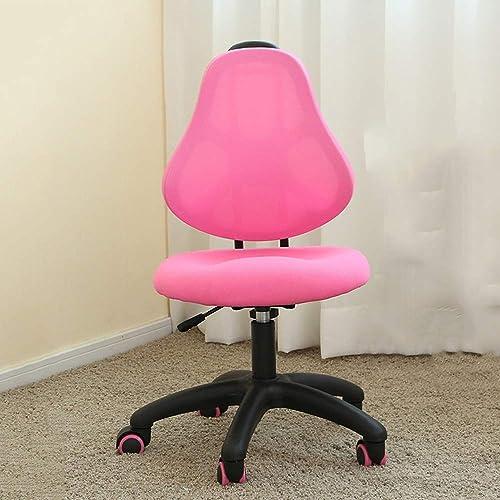 QFFL jiaozhengyi Korrektions-Stuhl-Schwarzeißs-justierbarer Studenten-Stuhl-Ausgangsrückseite, die Sitzungs-Korrektur-Stuhl-Kinderstudien-Stuhl-2 f t, passt optional ( Farbe   B )