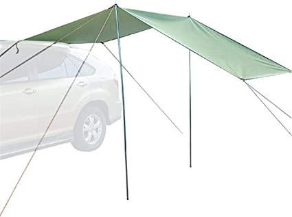 Magent Toldo para coche, portátil, impermeable, para camping, playa, etc.