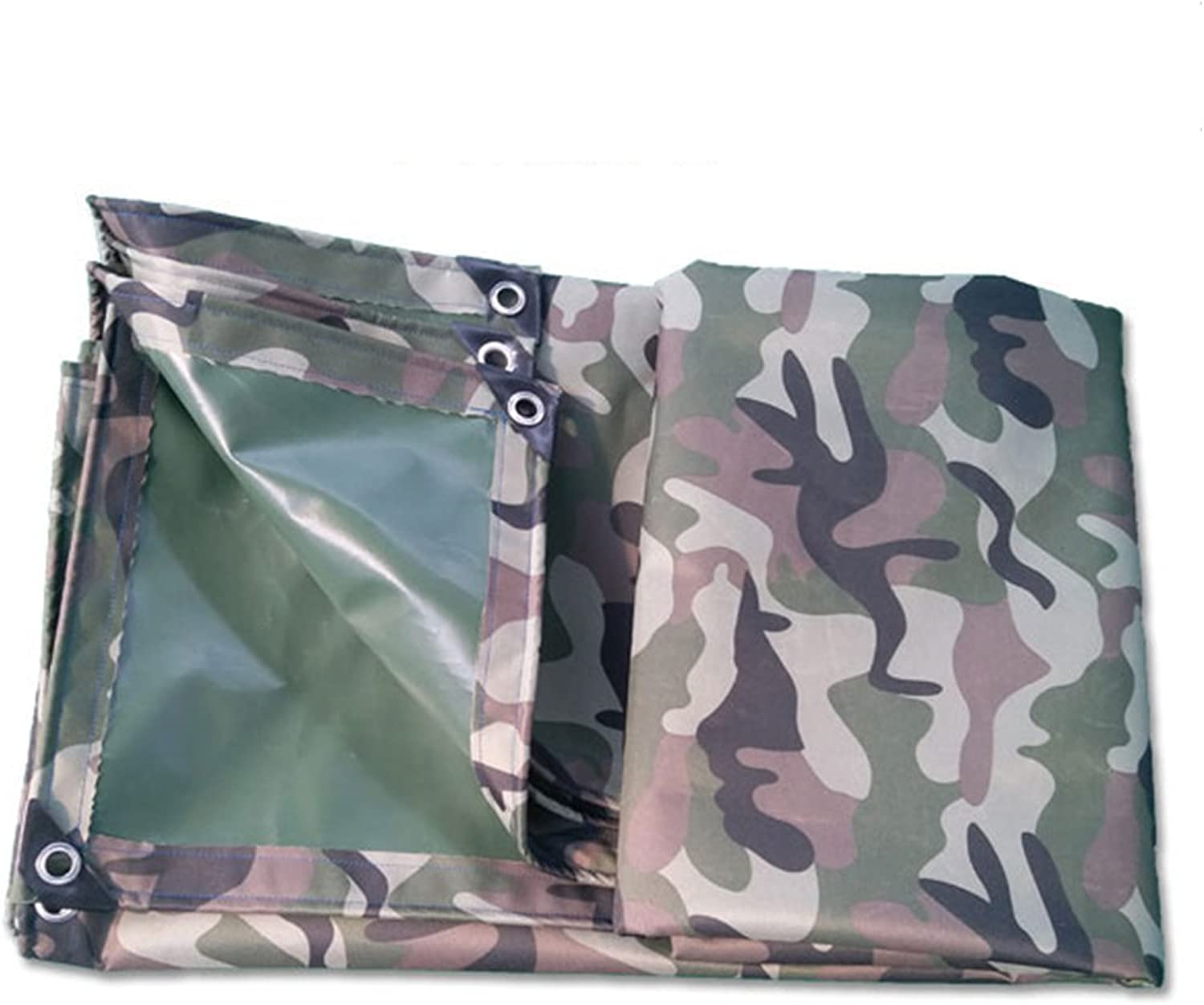 Xuanlindian Rainproof Cloth Waterproof Camouflage Tarpaulin Rainproof Sunscreen Warehouse Cargo Sunshade dust shed Fabric wearResistant AntiOxidation