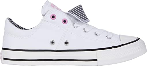 White/Peony Pink/Black