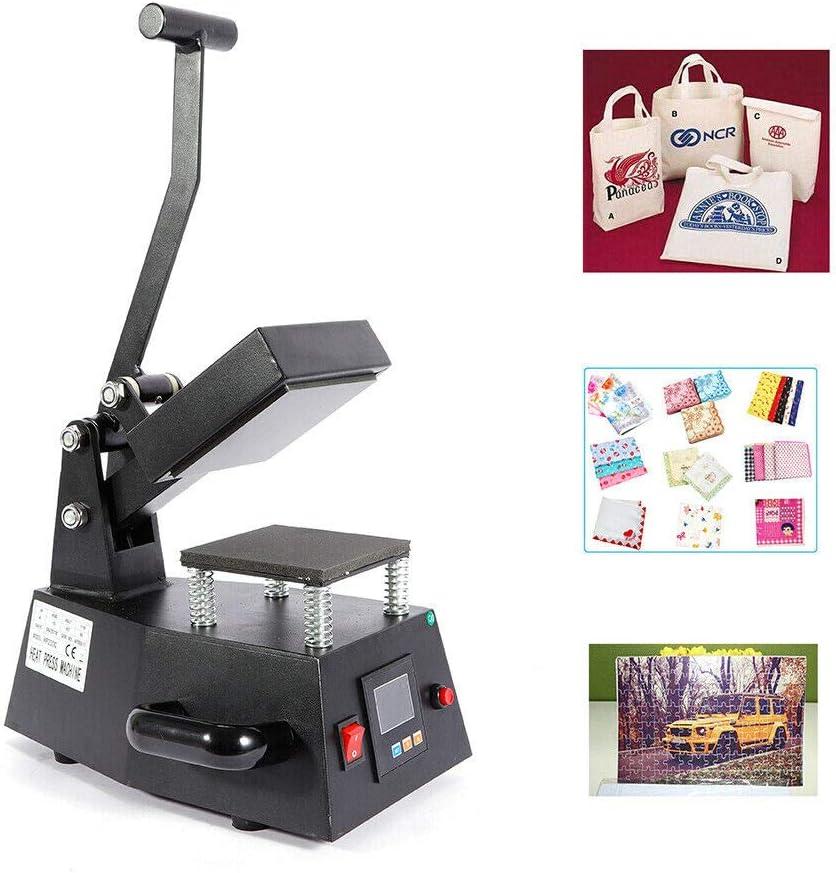 SDZC 600W 110V specialty shop Digital 5 popular Heat DIY Machine Single Press