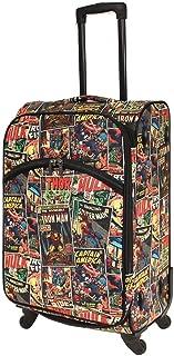Marvel - Avengers Comic Print 24in Medium 4 Wheel Soft Suitcase