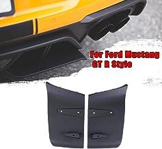 Nologo Royal Star TY 1 par de Labios ABS del Tope Posterior de Aire Difusor Valance Foil Kit for Ford Mustang 2016 2017 2018 2015 2019 GT R Estilo