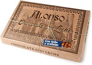 ALONSO - Chocolate CON LECHE y AVELLANAS - Tableta XXL 900