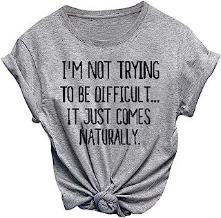 LUJXN Boys Crew Neck T-Shirt Novelty Short Sleeve Family Tees Durable