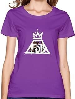 JiJa Lady Fall Out Boy Crown Logo Tee Shirt