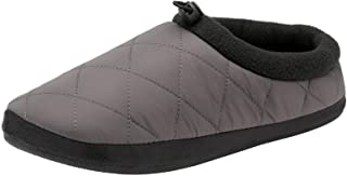 Dunlop Mens Halwell Slippers Soft Quilted Padded Duvet Outdoor Sole Mules