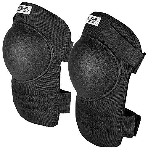 Deuba kniebeschermers, eenheidsmaat, traploos verstelbare stoffen riemen, PVC-omhulsel, kniebeschermer, kniebeschermer, kniebeschermer, kniebeschermer