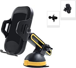 Adjustable Car Mount Phone Holder, Cell Phone Mount with Retractable Arm, Compatible with iPhone Xs MAX/XS/XR/X/8/8 Plus, Samsung Galaxy S9/S8/S7, and More (Silica Gel)