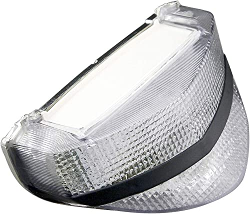 lowest Mallofusa online sale Motorcycle high quality Integrated Taillight LED Brake Tail Light Compatible for HONDA CBR929RR 2000 2001 Clear Lens outlet online sale
