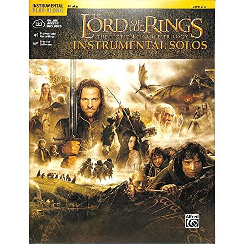 The Lord Of The Rings (Herr der Ringe) - Instrumental Solos Flute - Flöte Noten [Musiknoten]