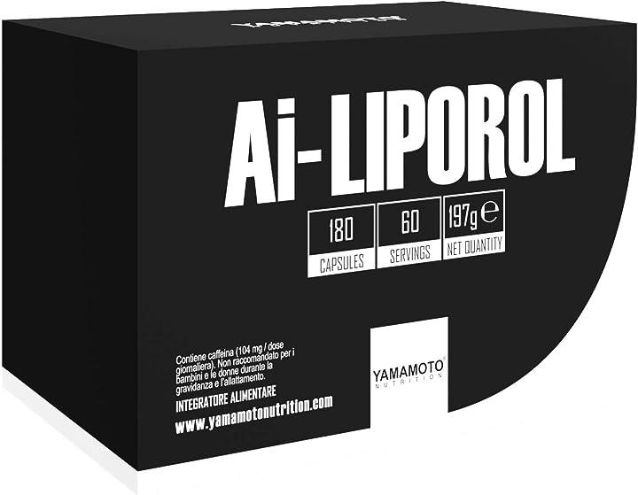 Ai-liporol® - yamamoto nutrition - pharmagoli integratori (180 capsule) B07SXB5KH1