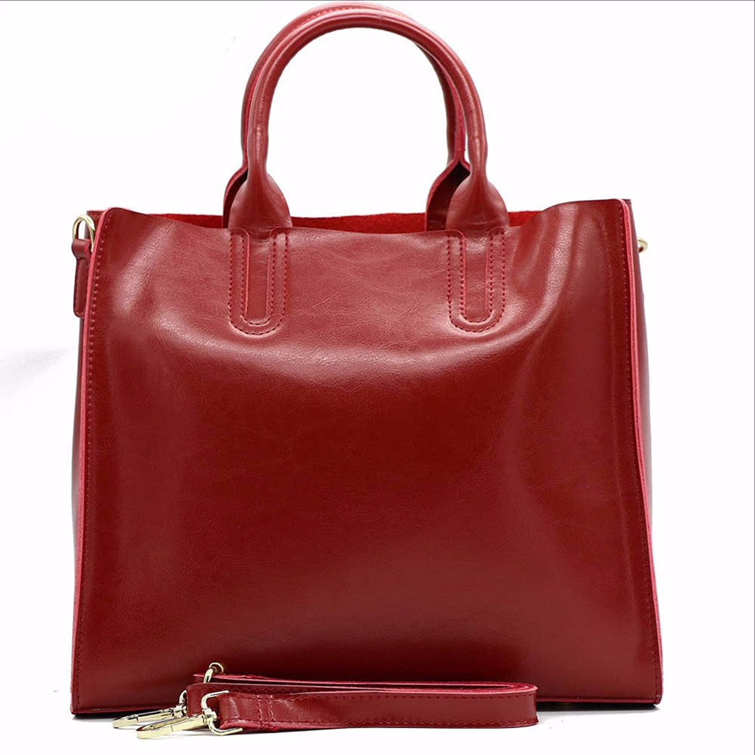 Leather Women Shoulder Bag European Brand Designer Real Leather Bag Shopping Handbag