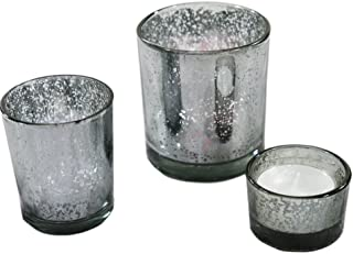 Best grey glass candle holder Reviews