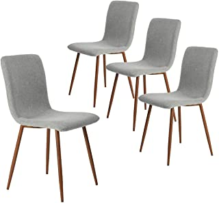 Coavas Set of 4 Kitchen Dining Chairs, Assemble All 4 in...