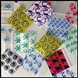 Mini Ziplock Baggies 1010 1000 Bags 10 Designs Apple Get Real Collection 1' X 1'
