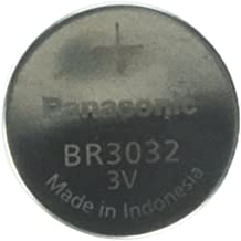 Panasonic Battery, Lithium Button Cell Br3032- Br 3032 (3 Pieces)