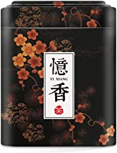Aromas de T/é Juego de Latas de Metal para T/é//Caja de T/é//Recipiente Contenedor Almacenamiento de T/é Le Chat Noir 100 gr y 25 gr.