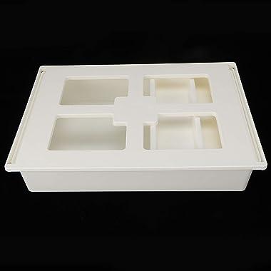 Omabeta Drawer Box Cabinet Drawer Organizer Storage Container Plastic Desktop Drawer Multipurpose Utility Storage Bin Home Of