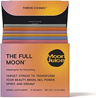 Moon Juice - The Full Moon Dust   Adaptogenic Sampler Box (12 Servings)