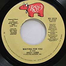 ANDY GIBB 45 RPM WAITING FOR YOU / DESIRE