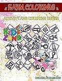 Farm Colorings: 40 Image Waterdrops, Ph, Windmill, Farm, Plant, Sensor, Farmer, Wheelbarrow For Kids Ages 3-5...