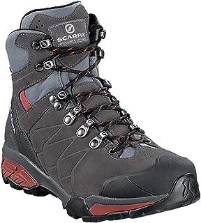SCARPA ZG Trek GTX Backpacking Boot - Women's Titanium/Red Ibiscus, 40.0
