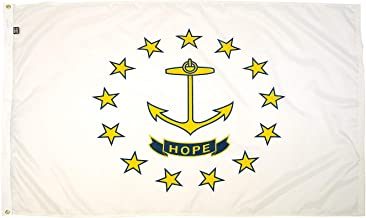 FlagSource Rhode Island Nylon State Flag, Made in The USA, 3x5'