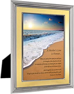 Loss of Mother Sympathy Card, Forever in Your Heart Frame