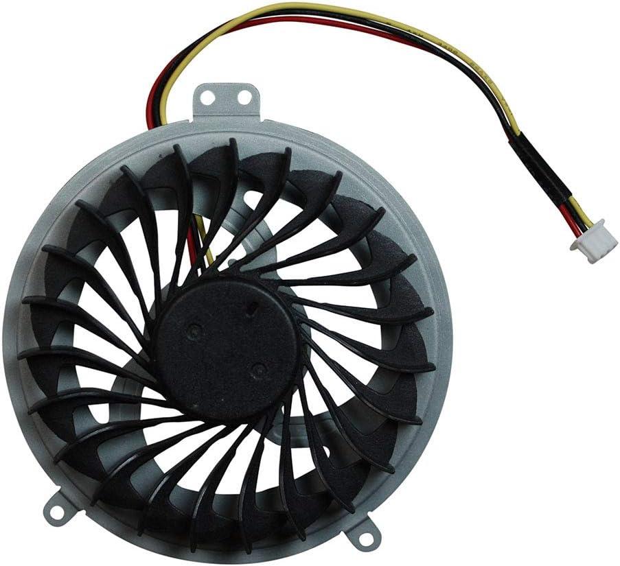 Power4Laptops Ventilador para Ordenadores portátiles Compatible con Sony Vaio SVE1512Y1ESI