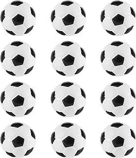 Mini Foam Sports Balls 12 Pack Balls for Kids Adults Mini Baseball Football Basketball Soccer Stress Ball Bulk Toy Little Big Game Party Decoration Balls Small Foam Relaxable Balls (Soccer)