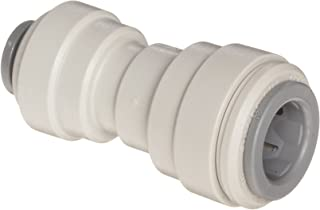 John Guest Acetal Copolymer Tube Fitting, Reducing Straight Union, 5/16