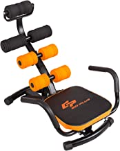 Goplus Core & Abdominal Trainers, Twister Trainer Ab Exercise Machine Height Adjustable Incline Workout Equipment Ab Rocket Exerciser