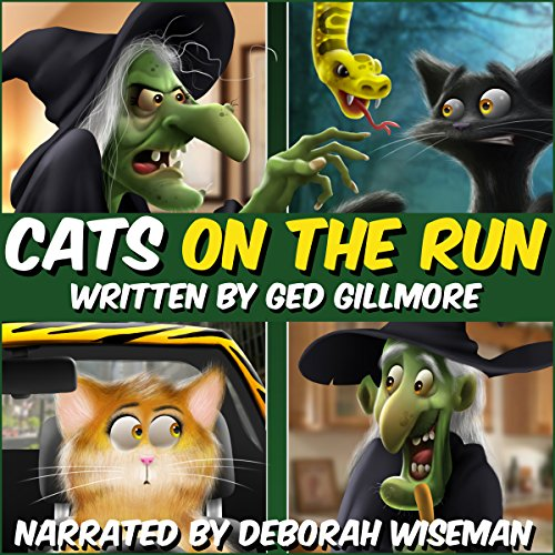 Cats on the Run audiobook cover art