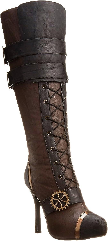 Ellie shoes Ellie 420 Quinley Womens Brown Boots, Size - 6