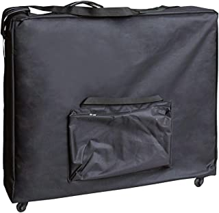 Artechworks Wheeled Massage Table Carrying Case, Bag with Wheels for Table up to 28