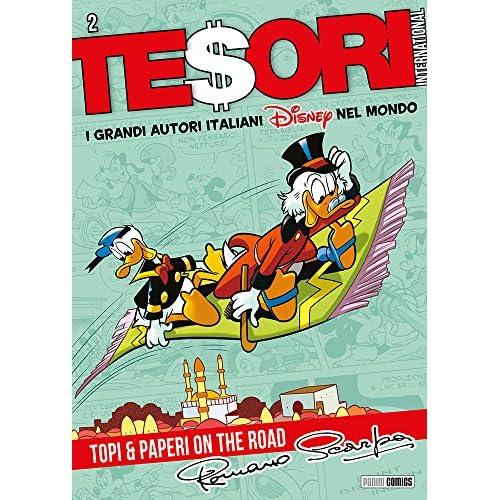 TESORI INTERNATIONAL 13- I GRANDI AUTORI ITALIANI DISNEY NEL MONDO 2