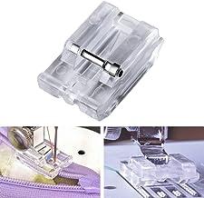 Pé de máquina de costura, Maserfaliw Home para máquina de costura doméstica, peças de máquina de costura invisível com zíp...