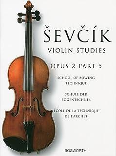 シェフチーク(セヴシック): 運弓法教本 Op.2 パート 5/ボスワース社/バイオリン教本