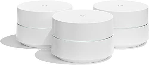 Google(TM) WiFi Wireless-AC Dual-Band Routers, 4725933, Pack of 3