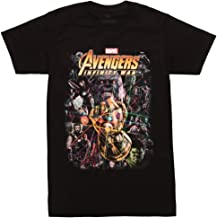 Impact Avengers Infinity War Group Shot Adult T-Shirt
