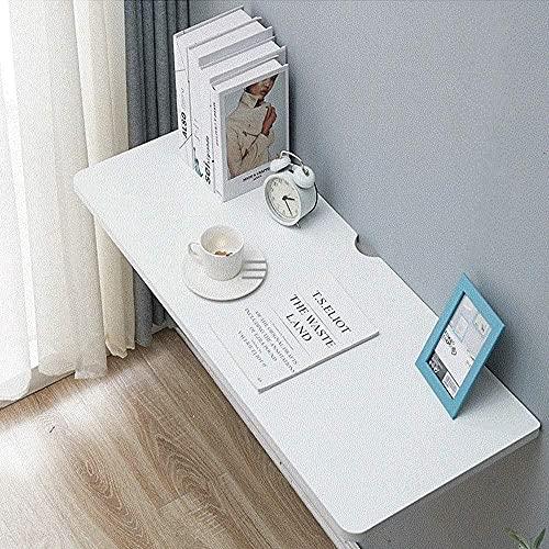 Mesa plegable para montar en la pared, para ahorrar espacio en la pared o en el balcón, estantería decorativa de 90 cm x 40 cm.